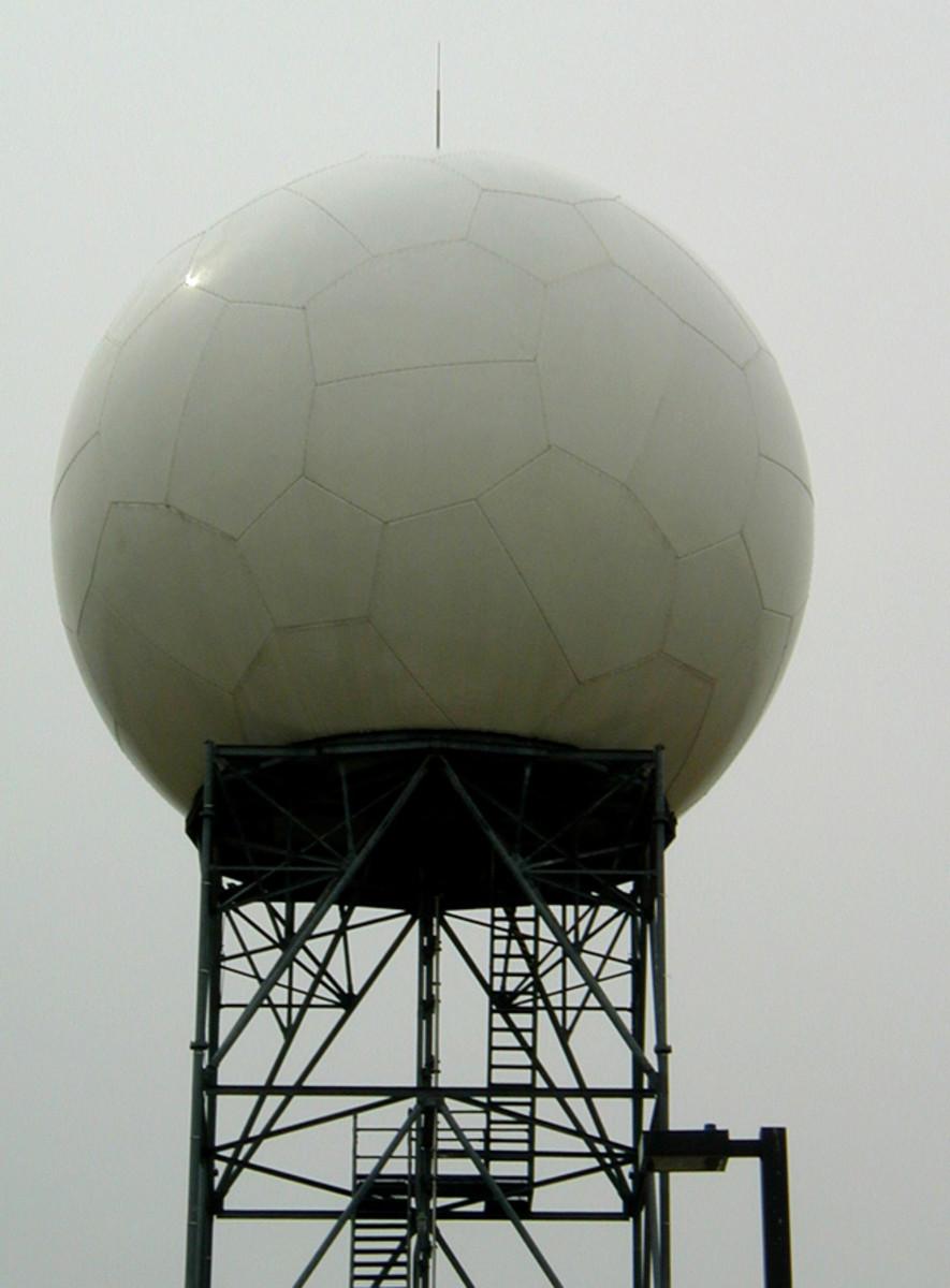 Oklahoma Inventions: NEXRAD (Next Generation Weather Radar) Antenna