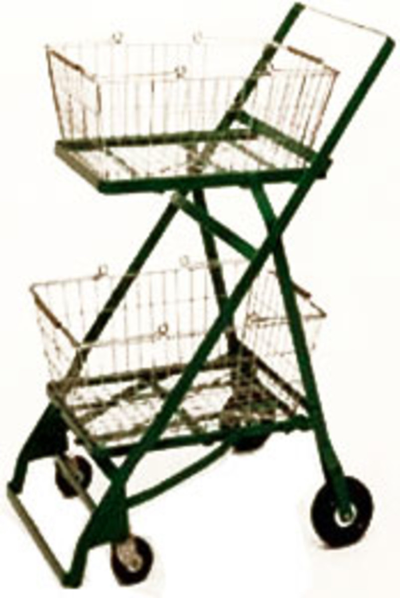 Oklahoma Invention and Inventors: Sylvan Goldman's Shopping Cart