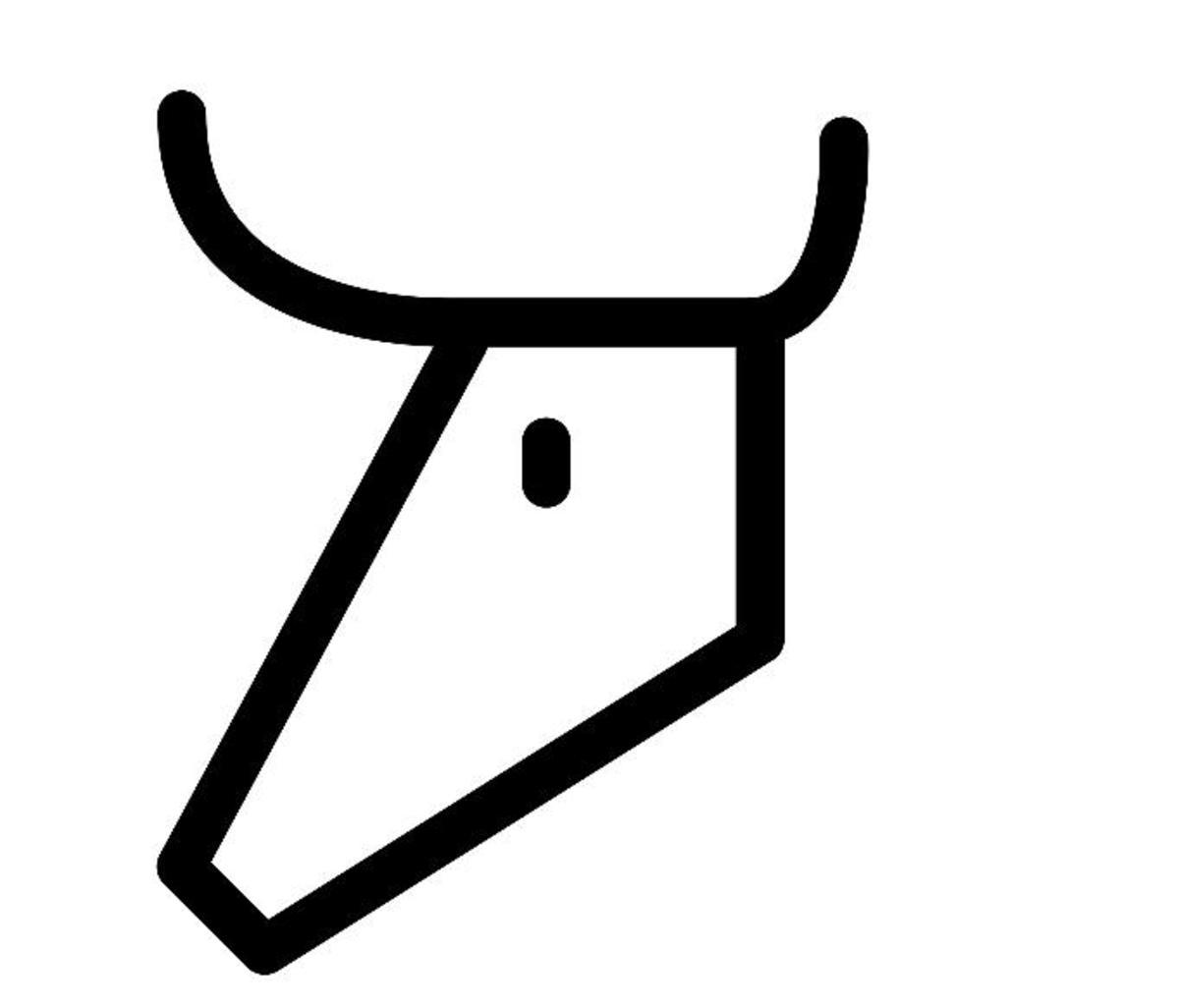 Image Credit: Wikipedia Proto-Semitic Aleph
