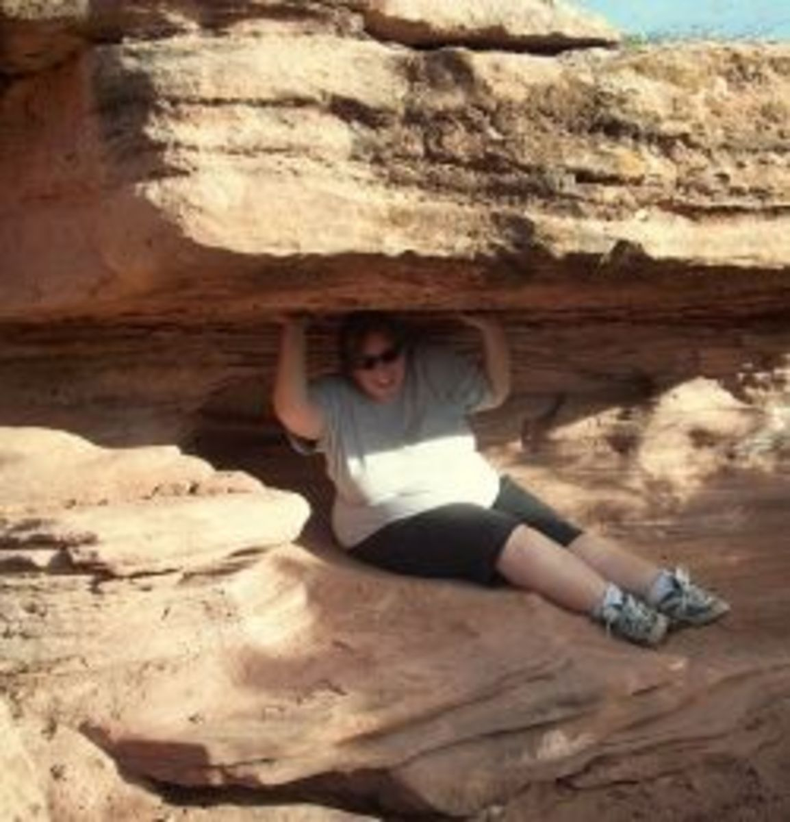 Being Silly and Getting Dirty in the Canyonlands of Utah