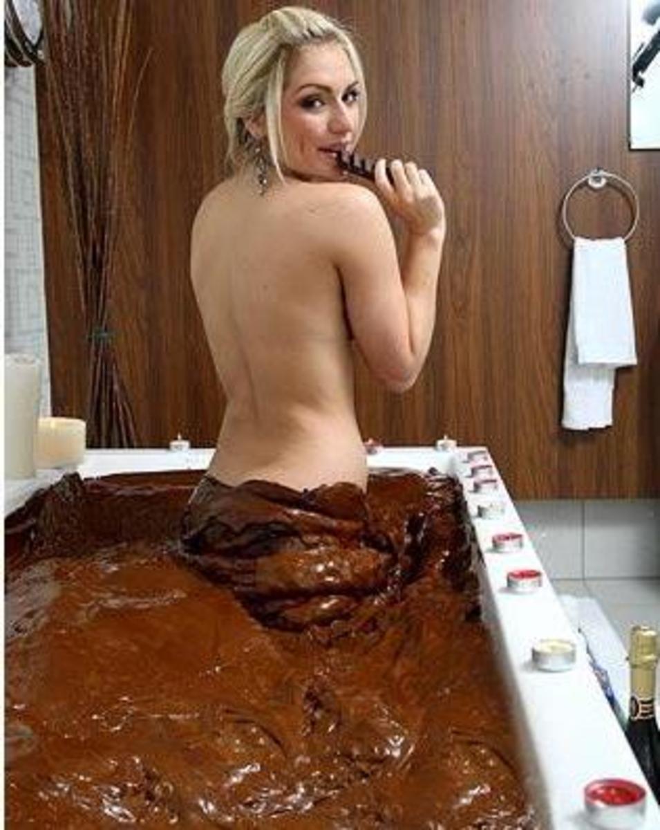 čokoládová koupel