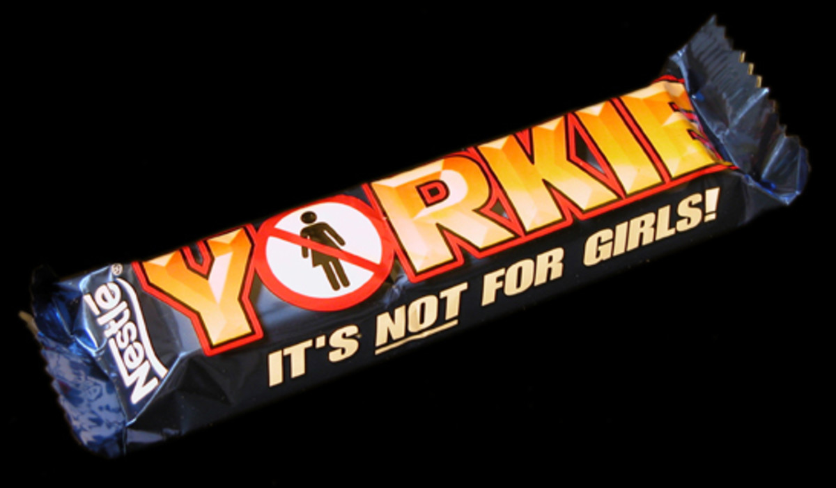 Yorkie. A Man's Chocolate Bar