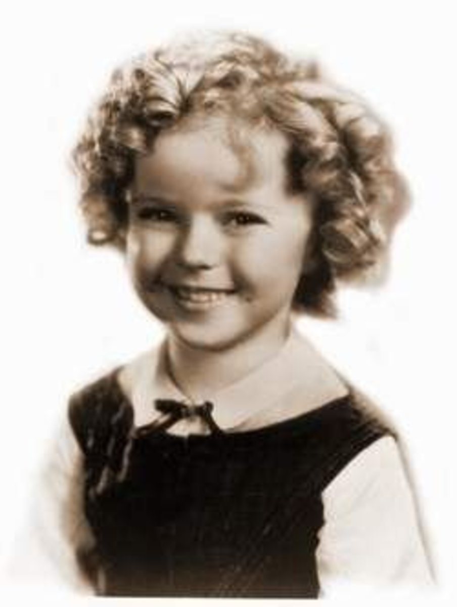 Shirley Temple - The cutest child actor ever!