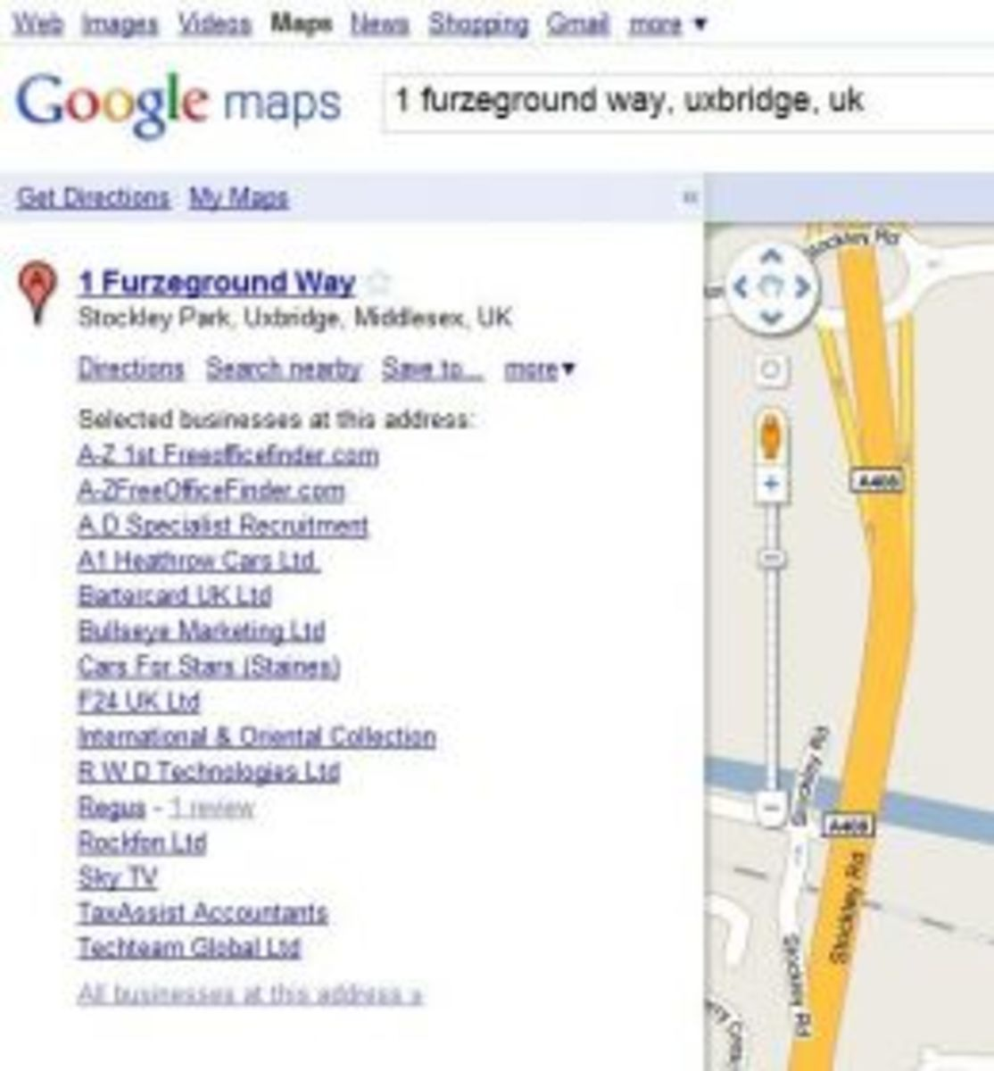 How many businesses share the same address as TVI Express in Uxbridge? See for yourself.