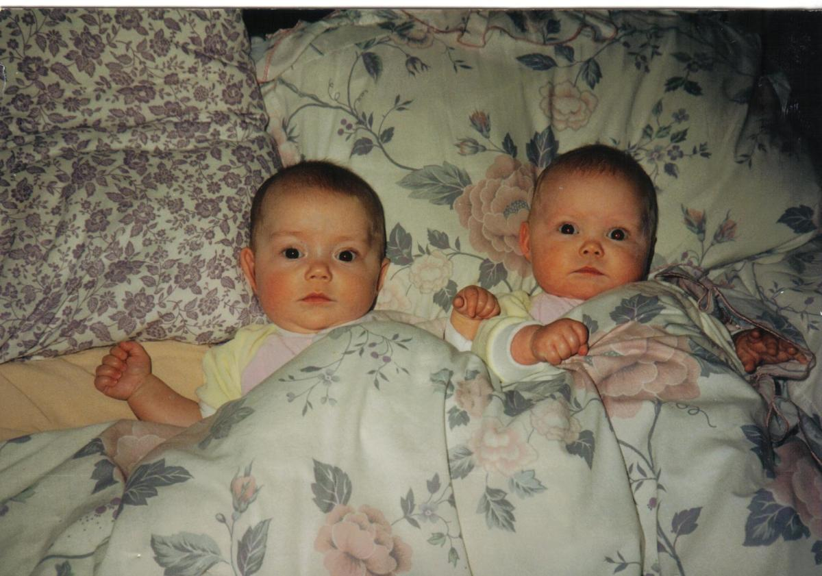 my twins as babies