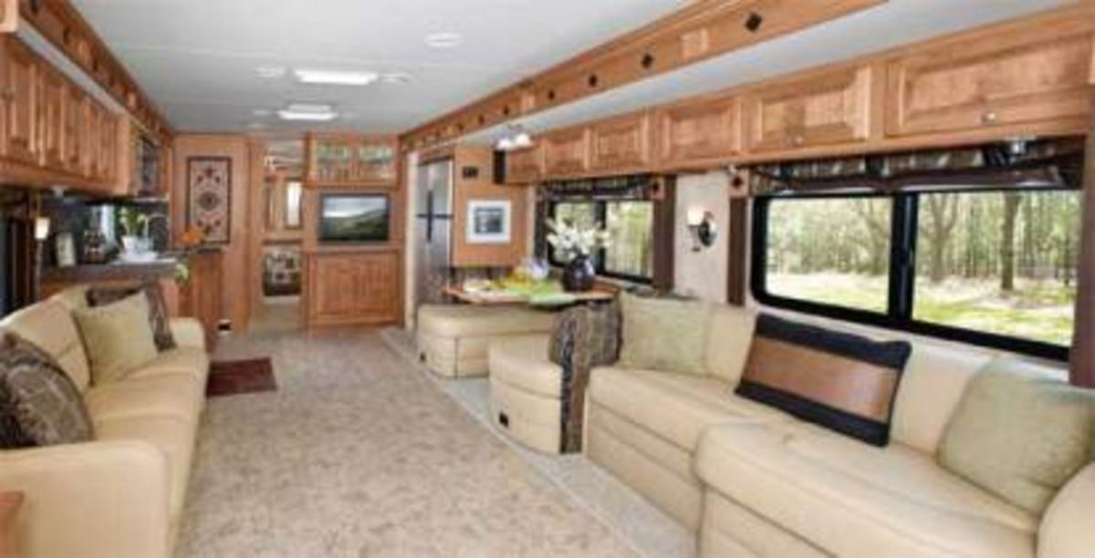 Interior Features to Look for in an RV