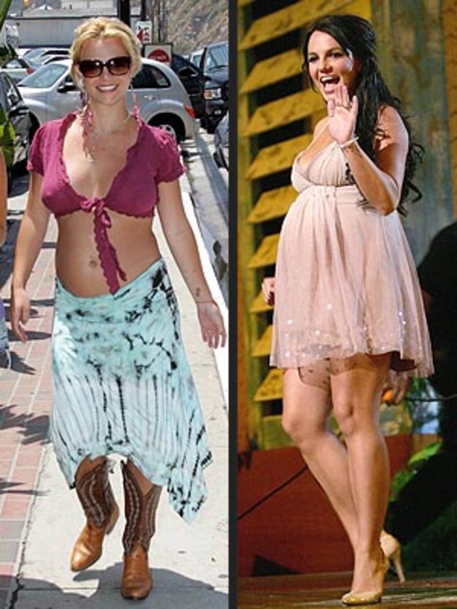 Too short or showing too much, Britney Spears
