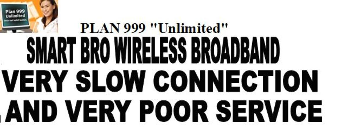 Smart Bro Wireless Broadband is a Big Disappointment