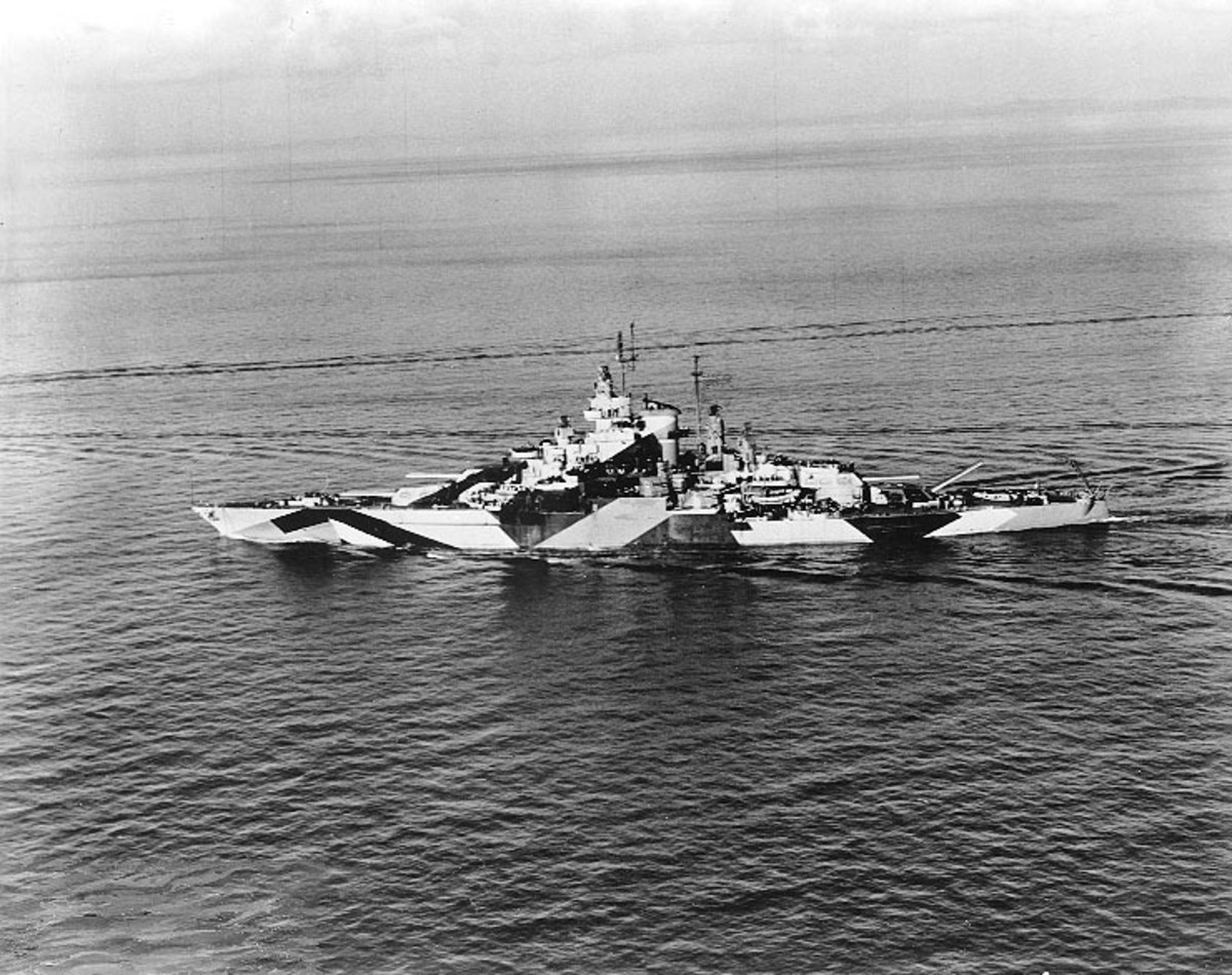 Destroyer USS California