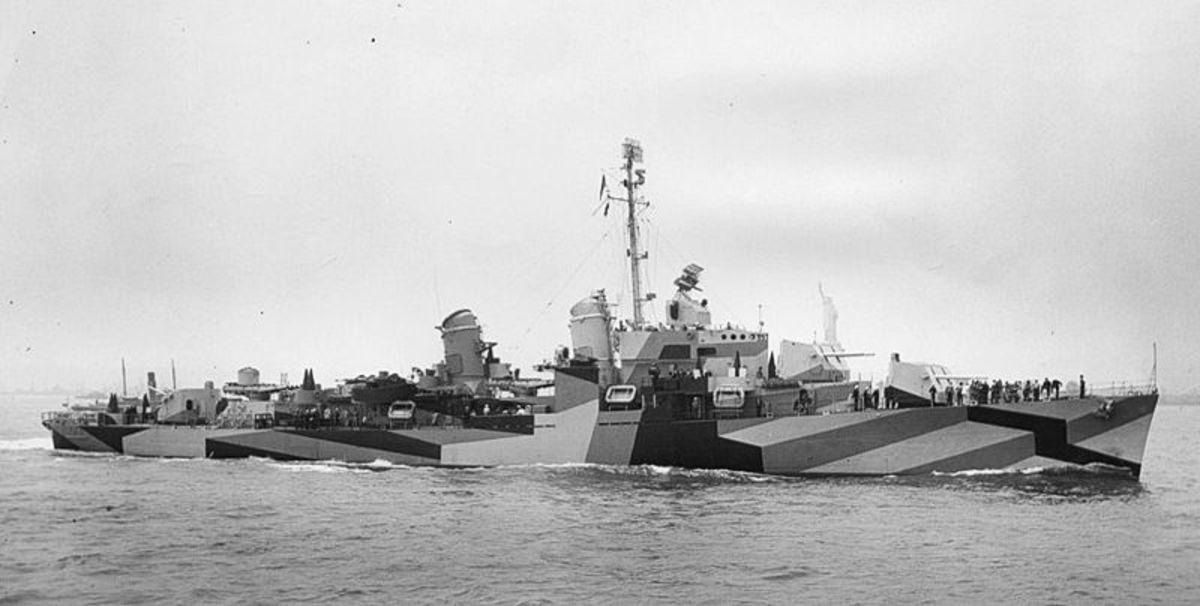 Battleship USS Charles S. Sperry