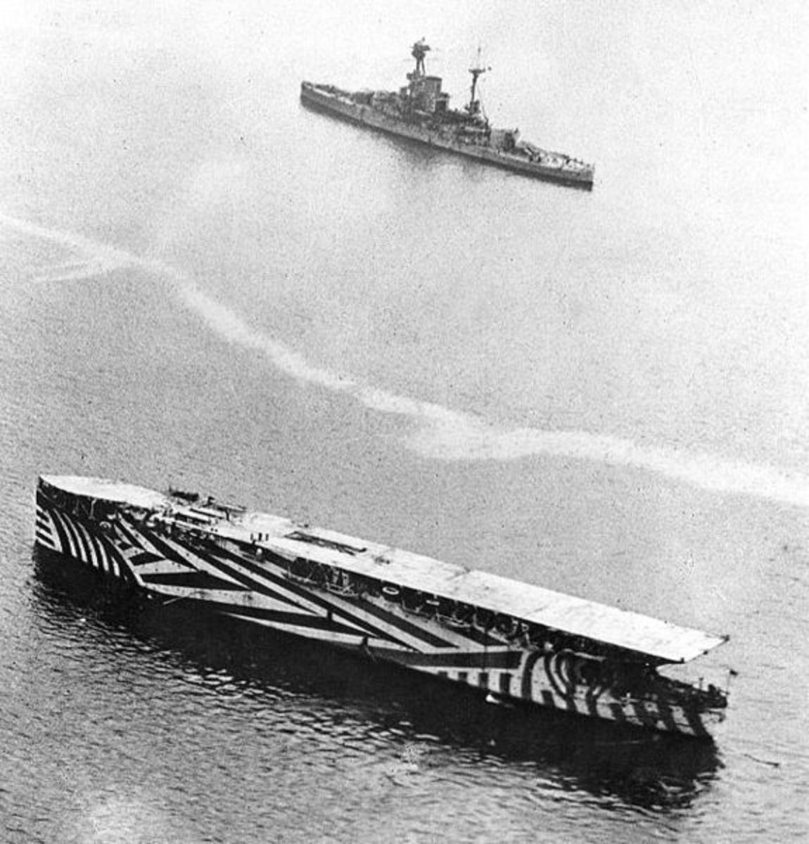 HMS Argus - 1918