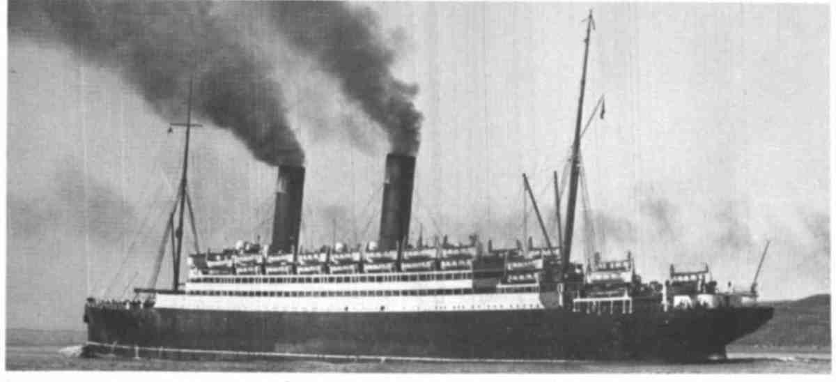 RMS Caronia - The ship that brought my grandmother to America in 1910.