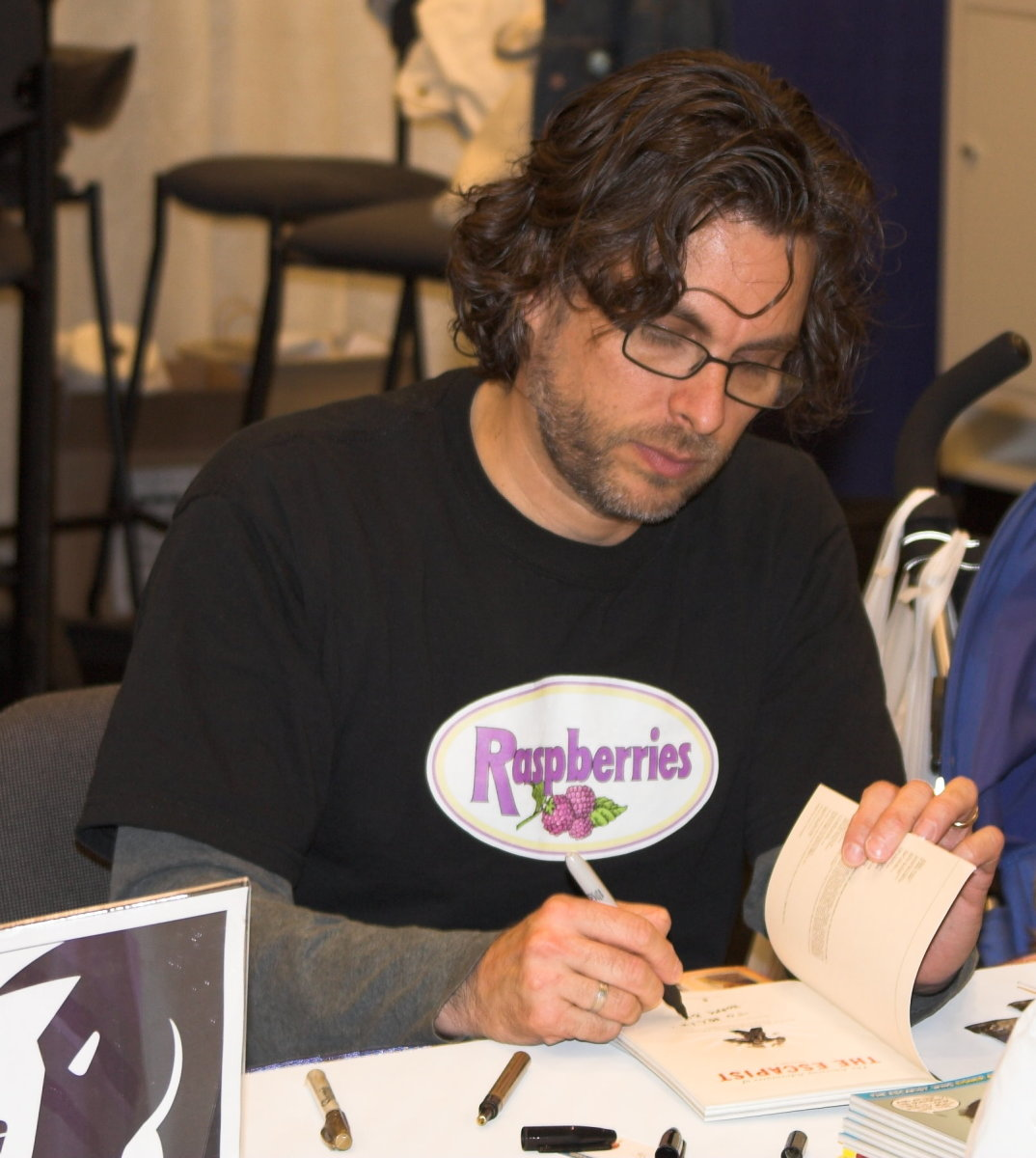 Michael Chabon at a book signing at WonderCon in 2006