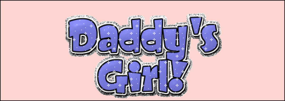 yes I am a daddys girl