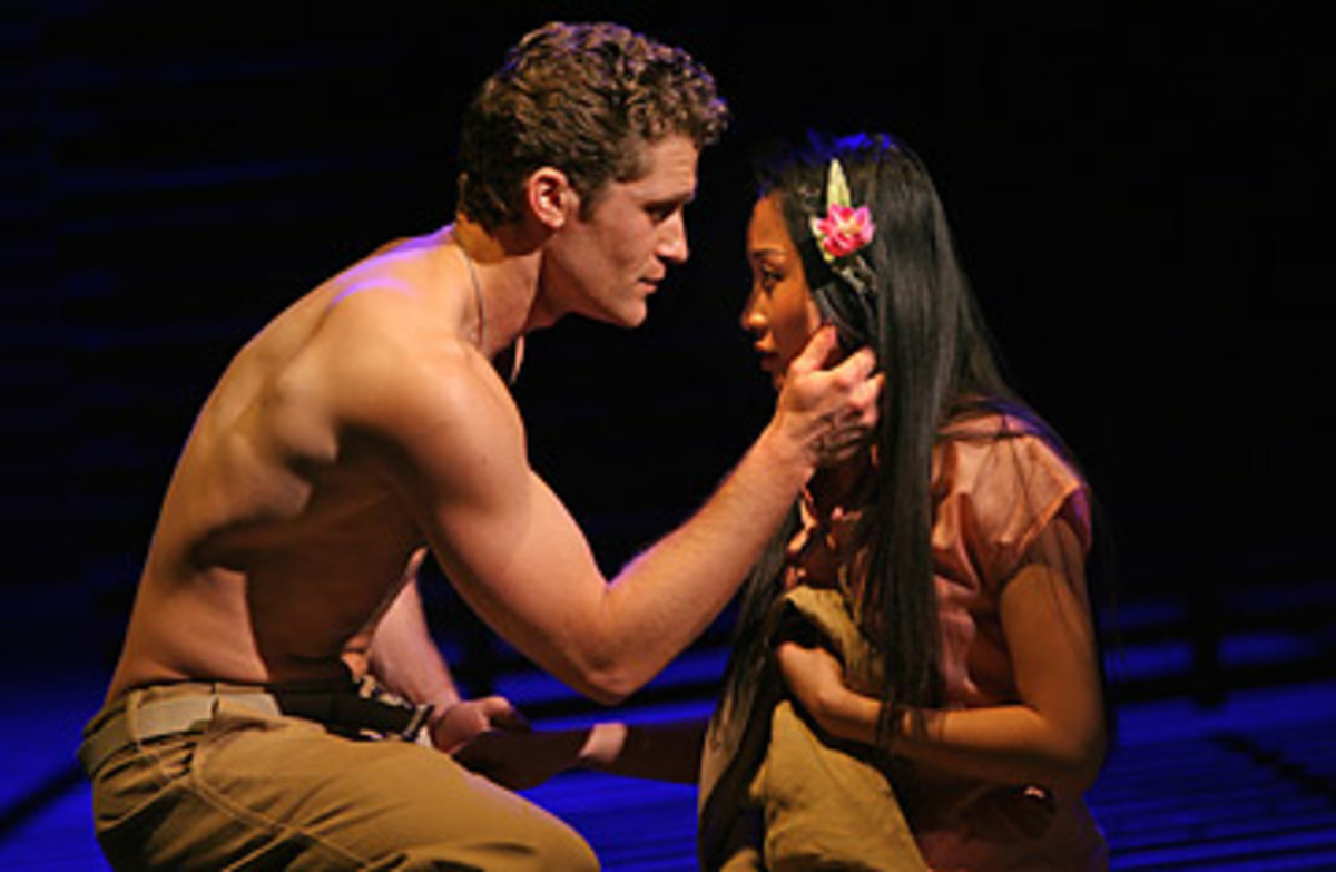 A young officer falls in love with an island girl. . .