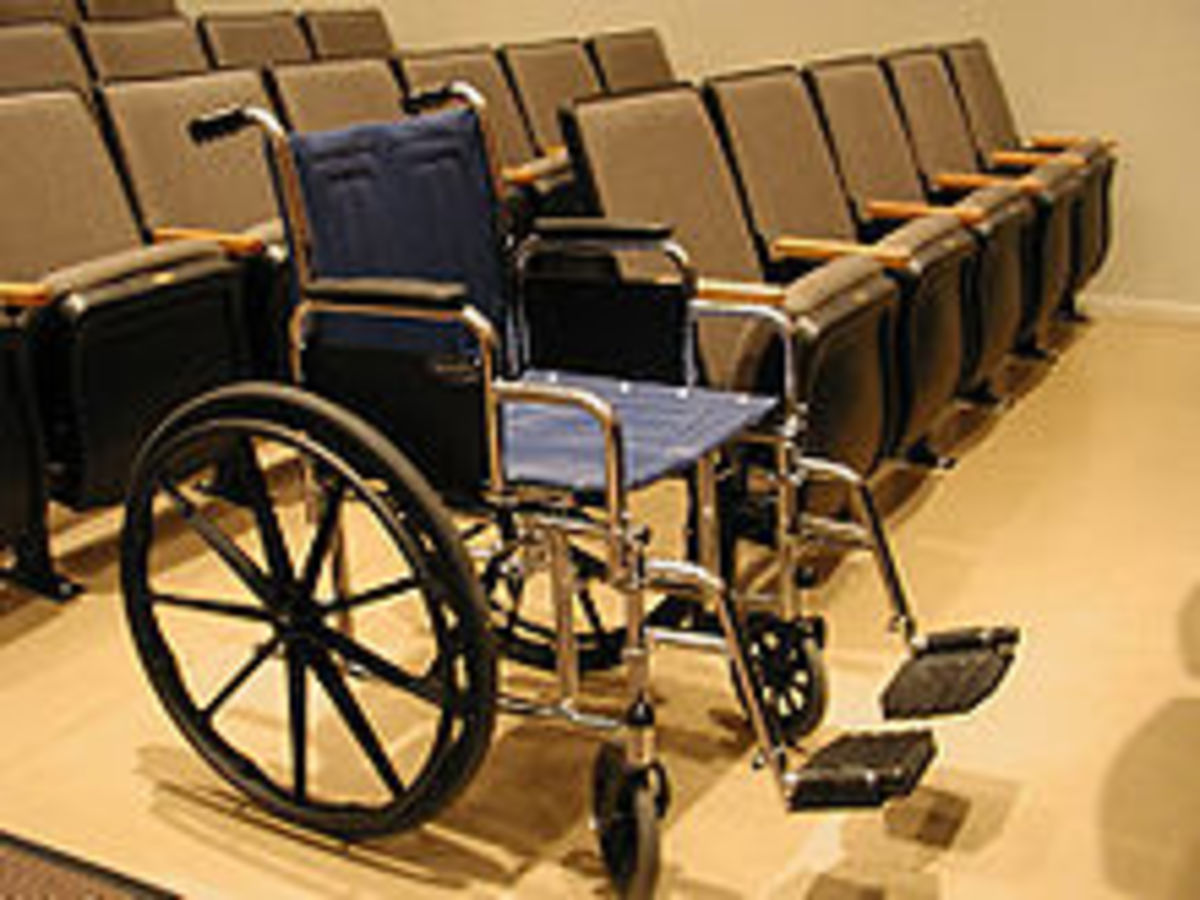 ordinary wheelchair