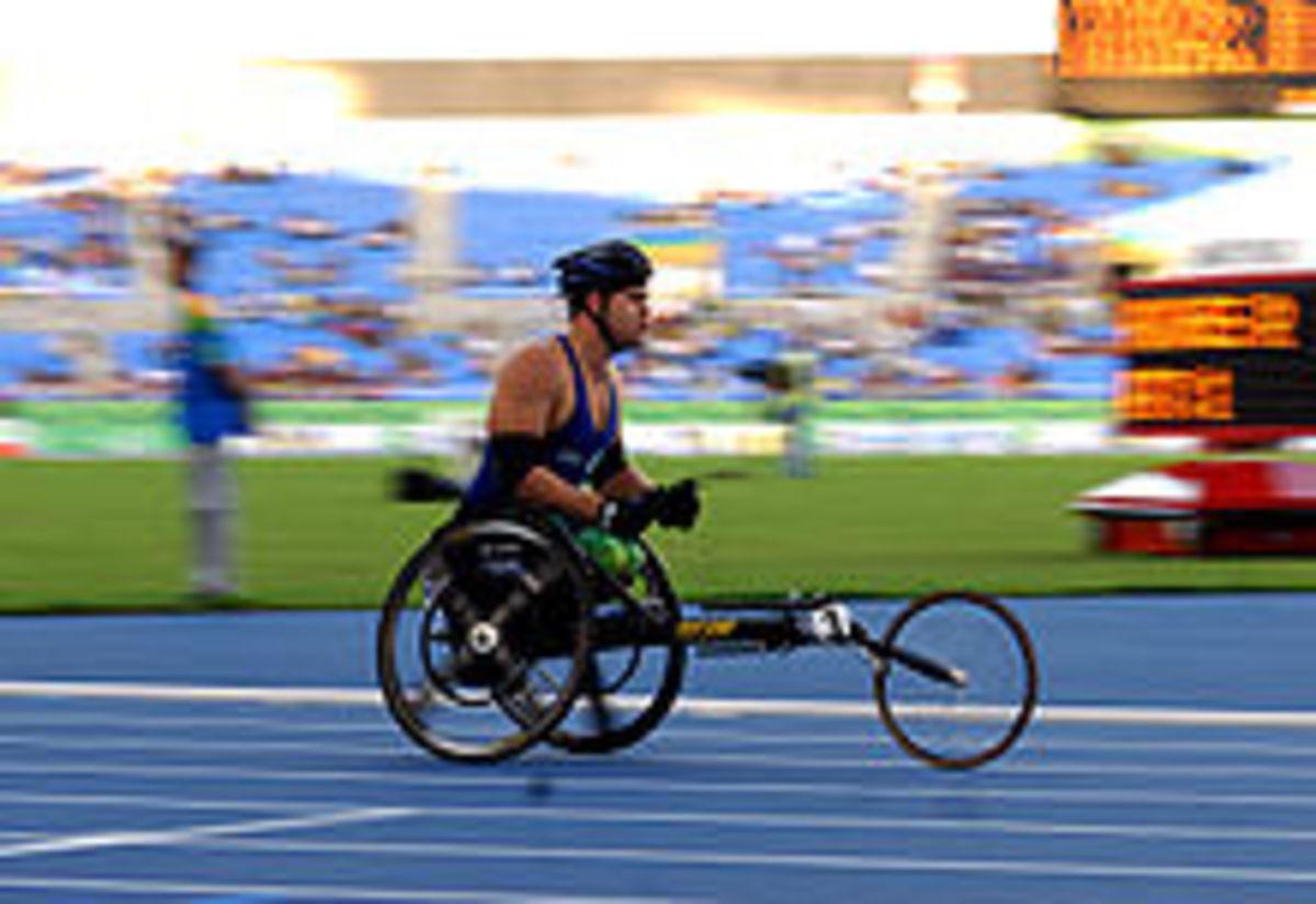 modern racing wheelchair