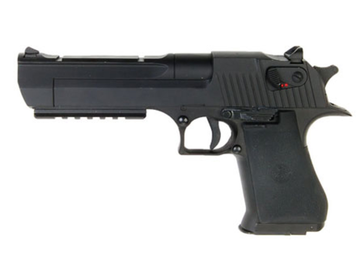 I'm not aware of other airsoft electric pistol versions of the desert eagle out there. Does this mean this is not a clone?