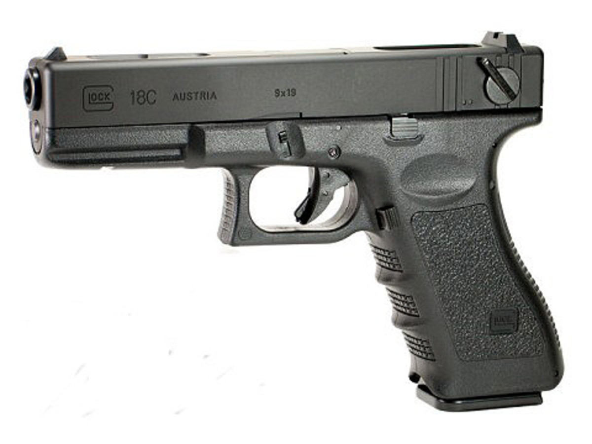 The Tokyo Marui Glock 18c Airsoft Electric Pistol was the first AEP on the market