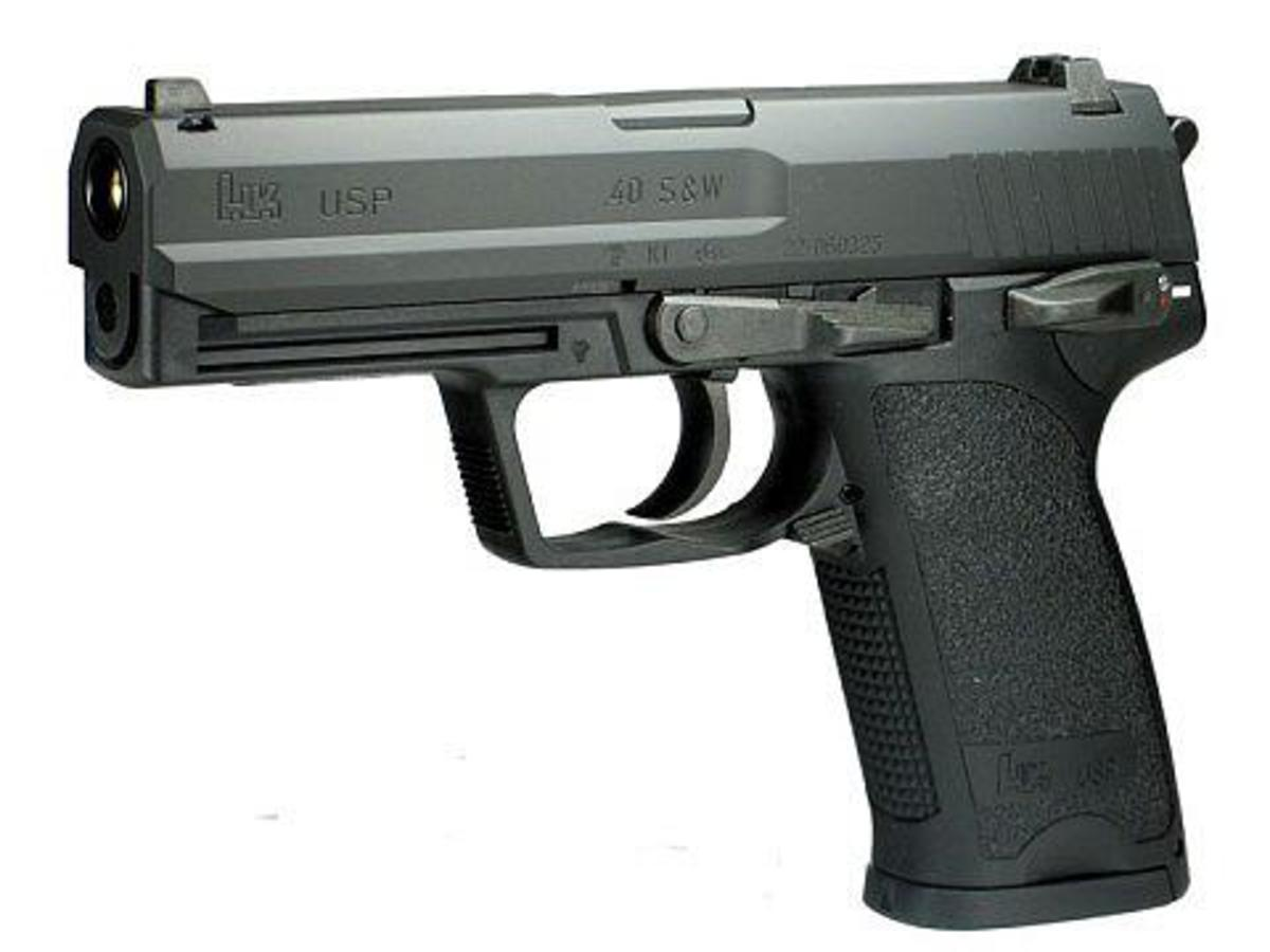 USP is another great airsoft electric pistol from Tokyo Marui