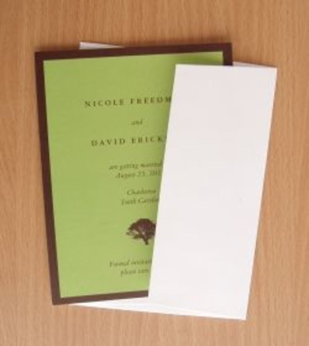 Zazzle paper invitation quality