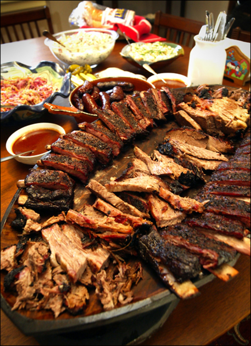 How many different kinds of barbecue have you had. Have you ever thought of putting barbecue sauce on sausages. How about serving grilled vegetables with your barbecue meals.