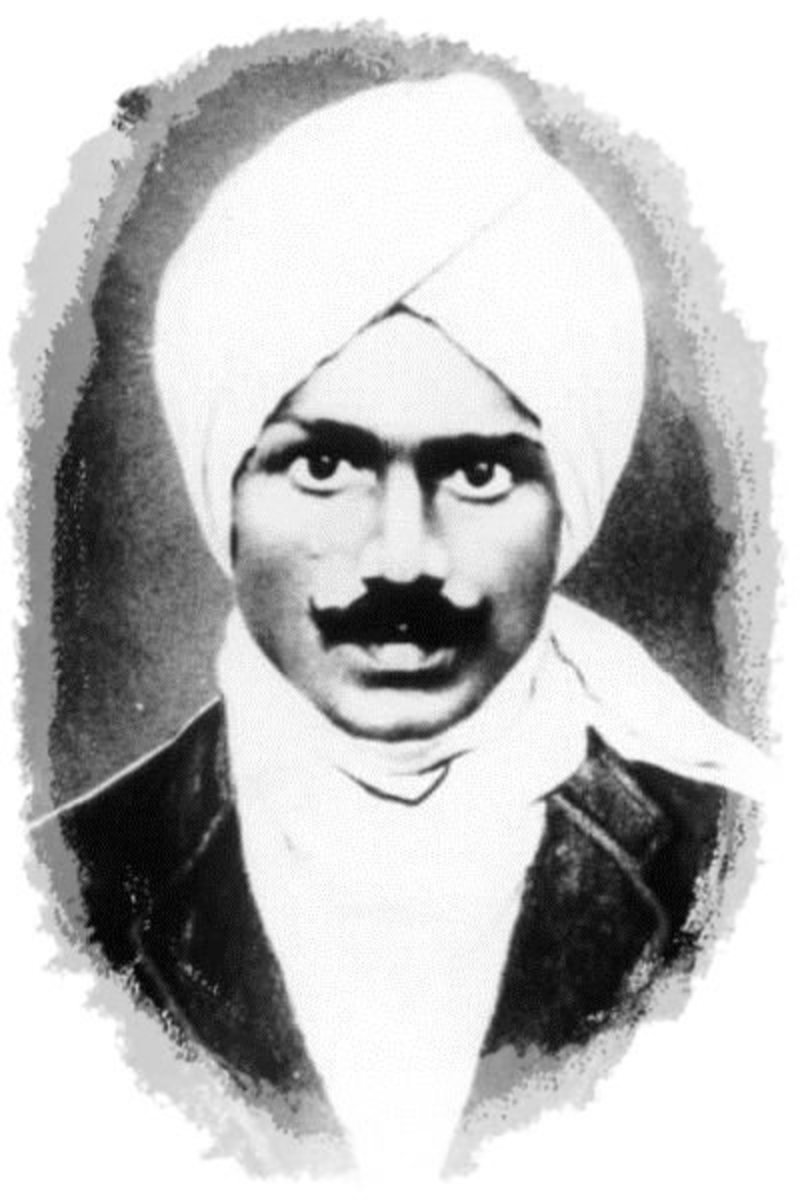 The Great Tamil Poet Subramania Bharathi