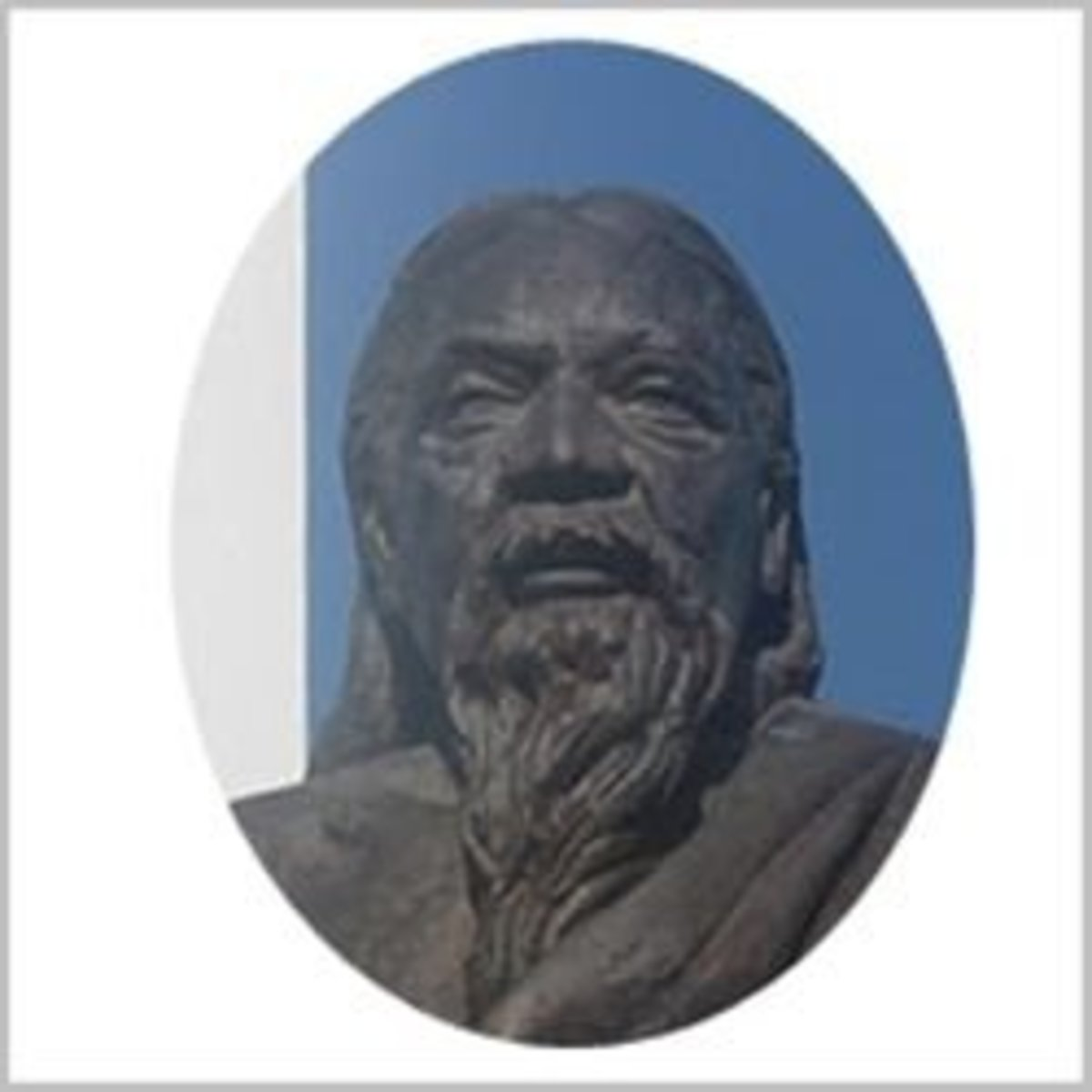 Sri Aurobindo-Statue