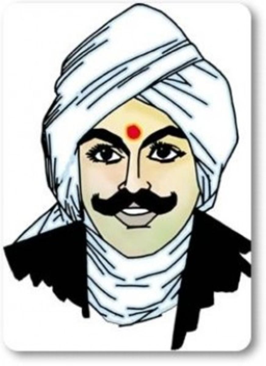 Tamil Poet Bharathi