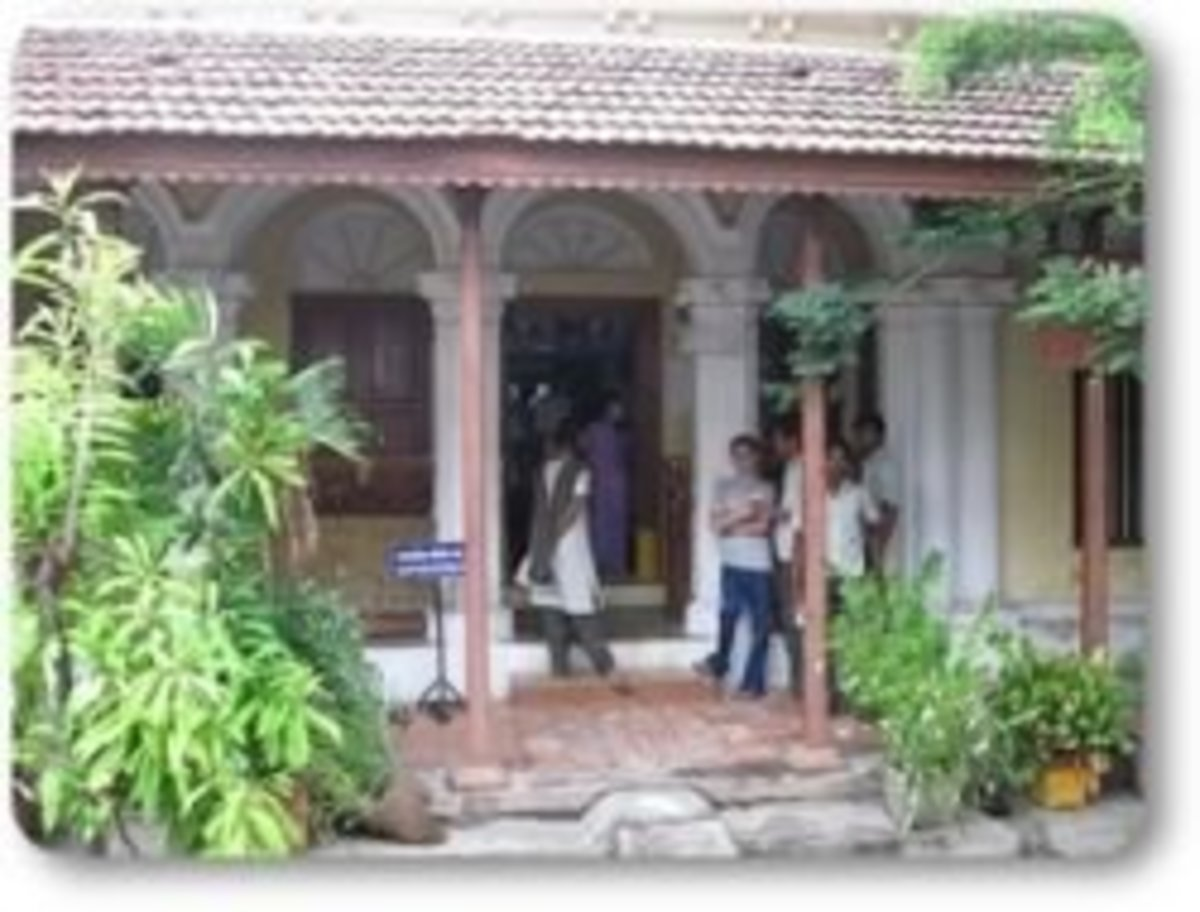 Bharathi's Life In Pondicherry