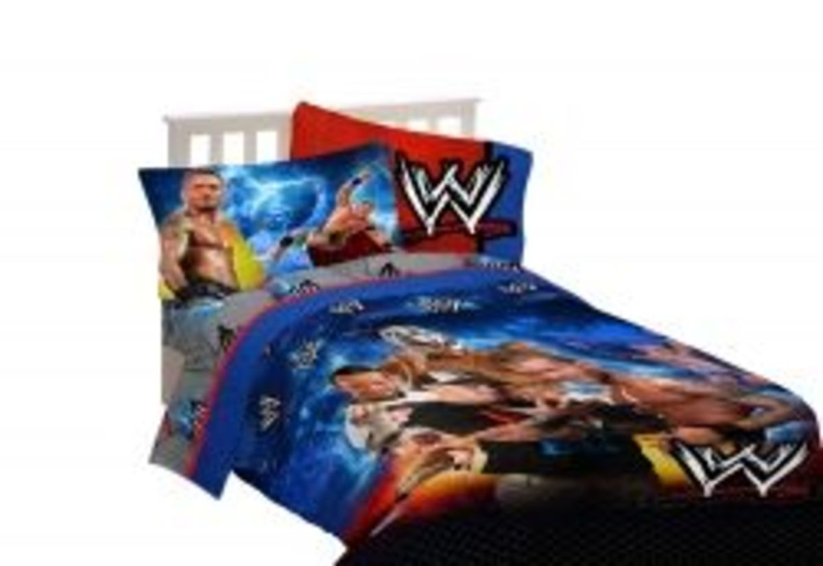 WWE Kids Bedroom Decor