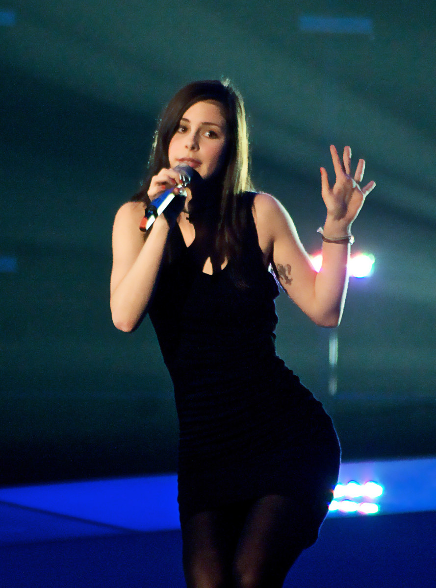 Sexy Lena Meyer - Landrut, Eurovision 2010 Contest Winner from Germany!