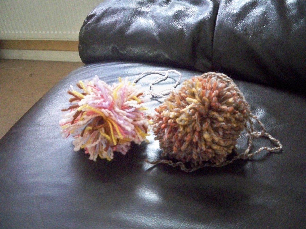Your completed pompom!
