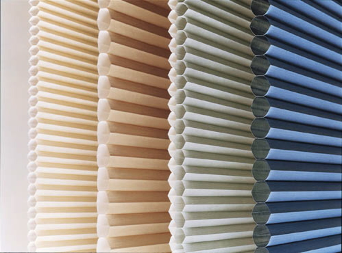 Honeycomb Window Blinds - Ready Made Cellular Shades