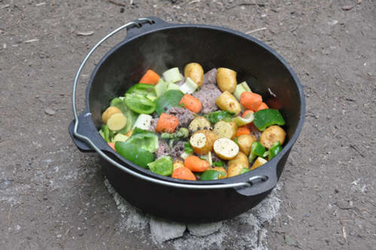 Dutch Oven Recipes Chunky Vegetables