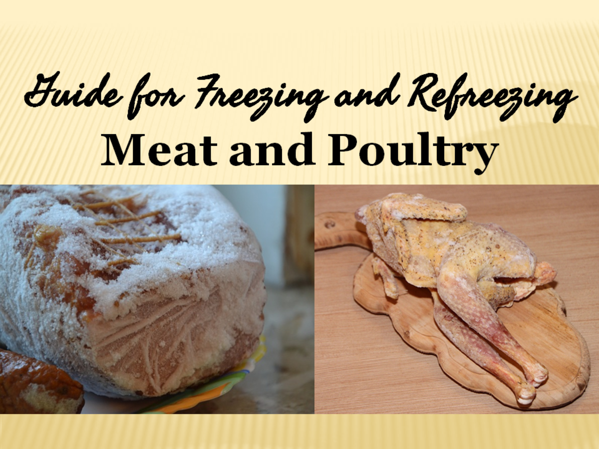 Guide for Freezing and Refreezing Meat and Poultry