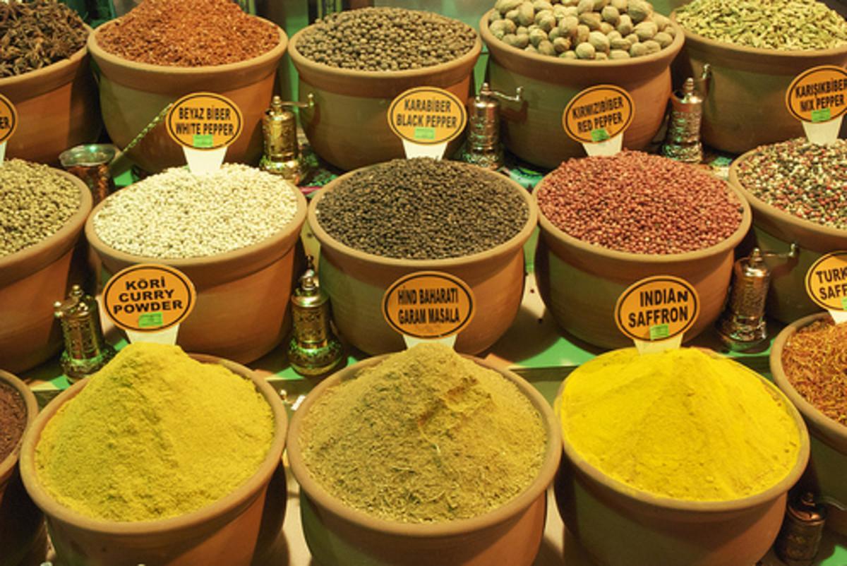 Spices photo credit: turbotoddi @flickr