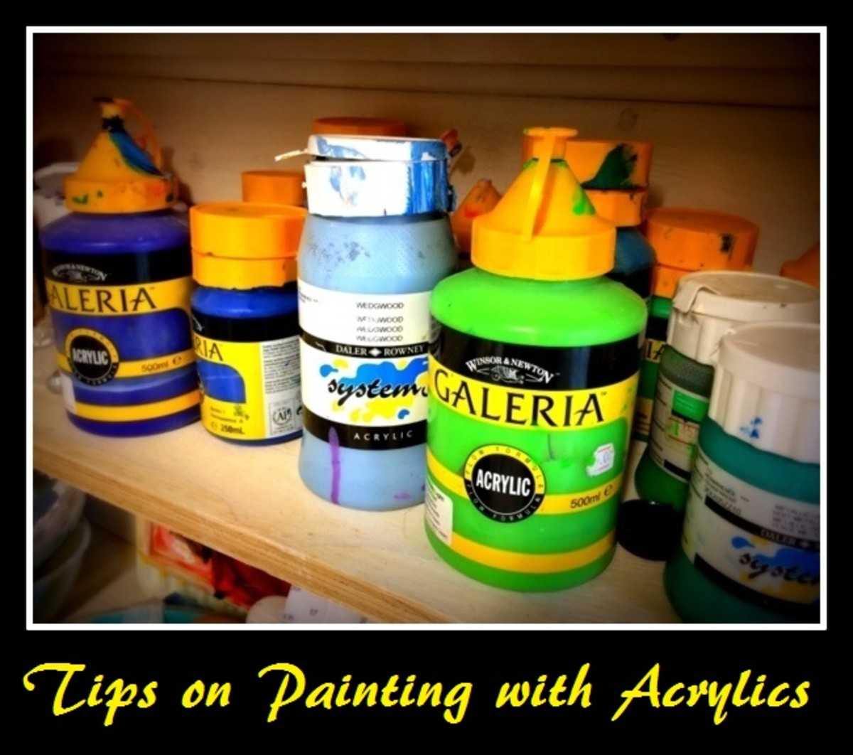 Tips On Painting With Acrylic Paints