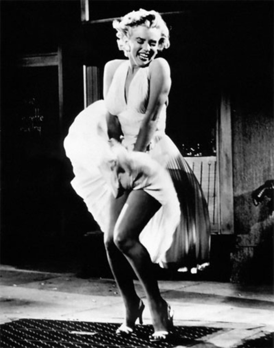 Marilyn Monroe in The Seven Year Itch (dir. Billy Wilder, 1955)