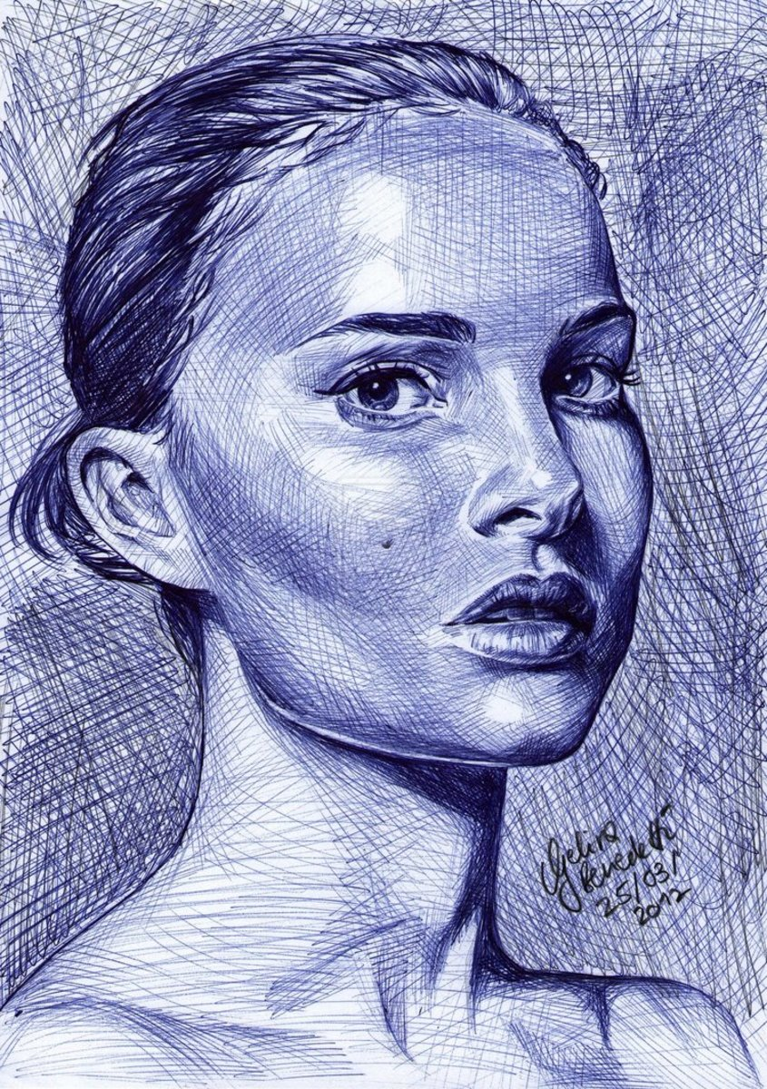 http://angelinabenedetti.deviantart.com/art/Natalie-Portman-Ballpoint-Pen-292285301