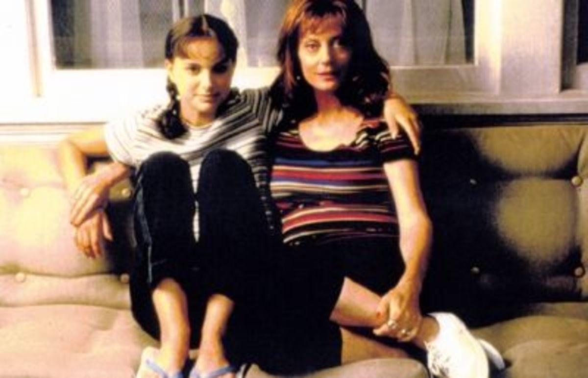 Natalie hangin with Susan Sarandon