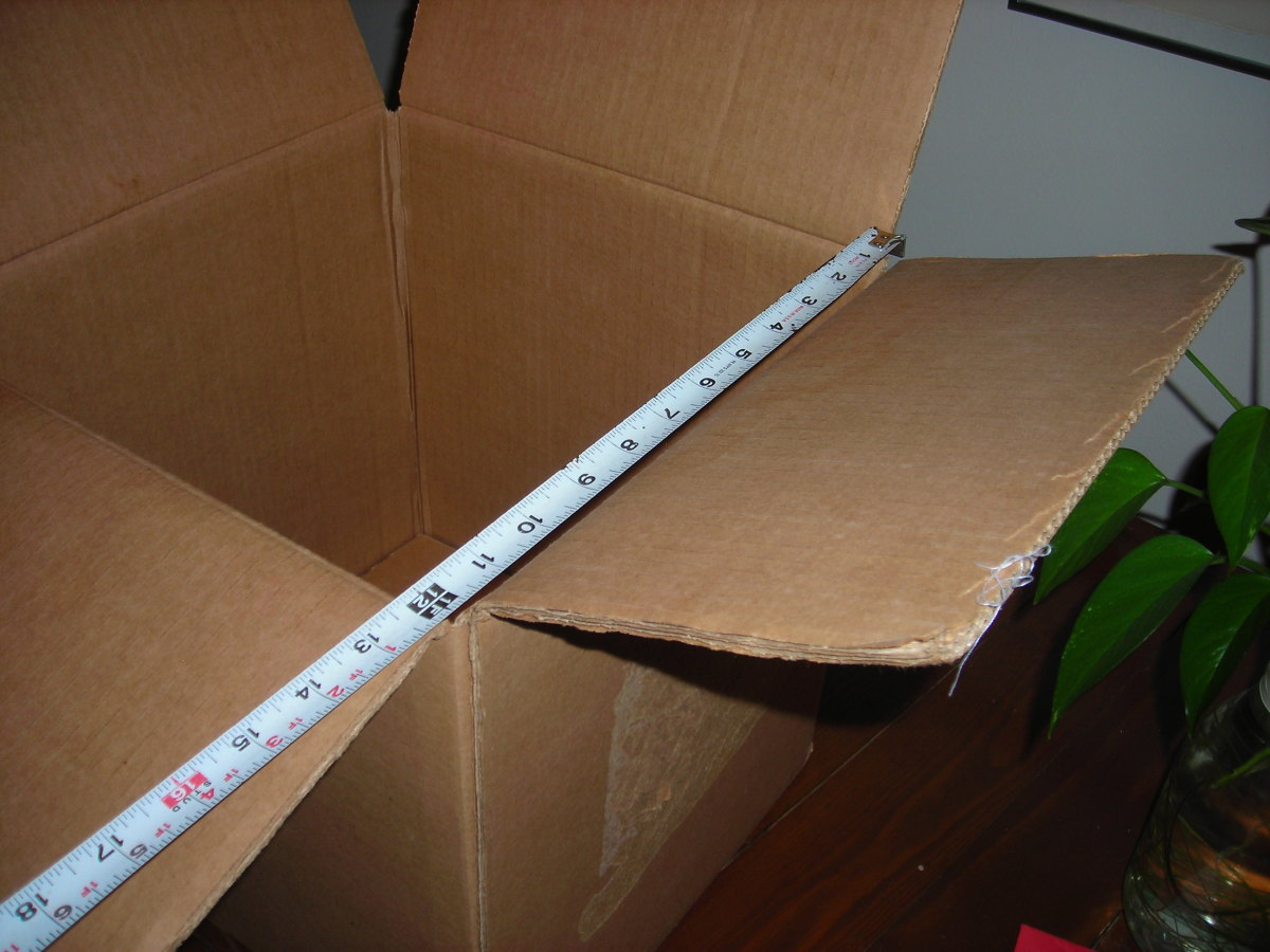Measure Inside Length of Box