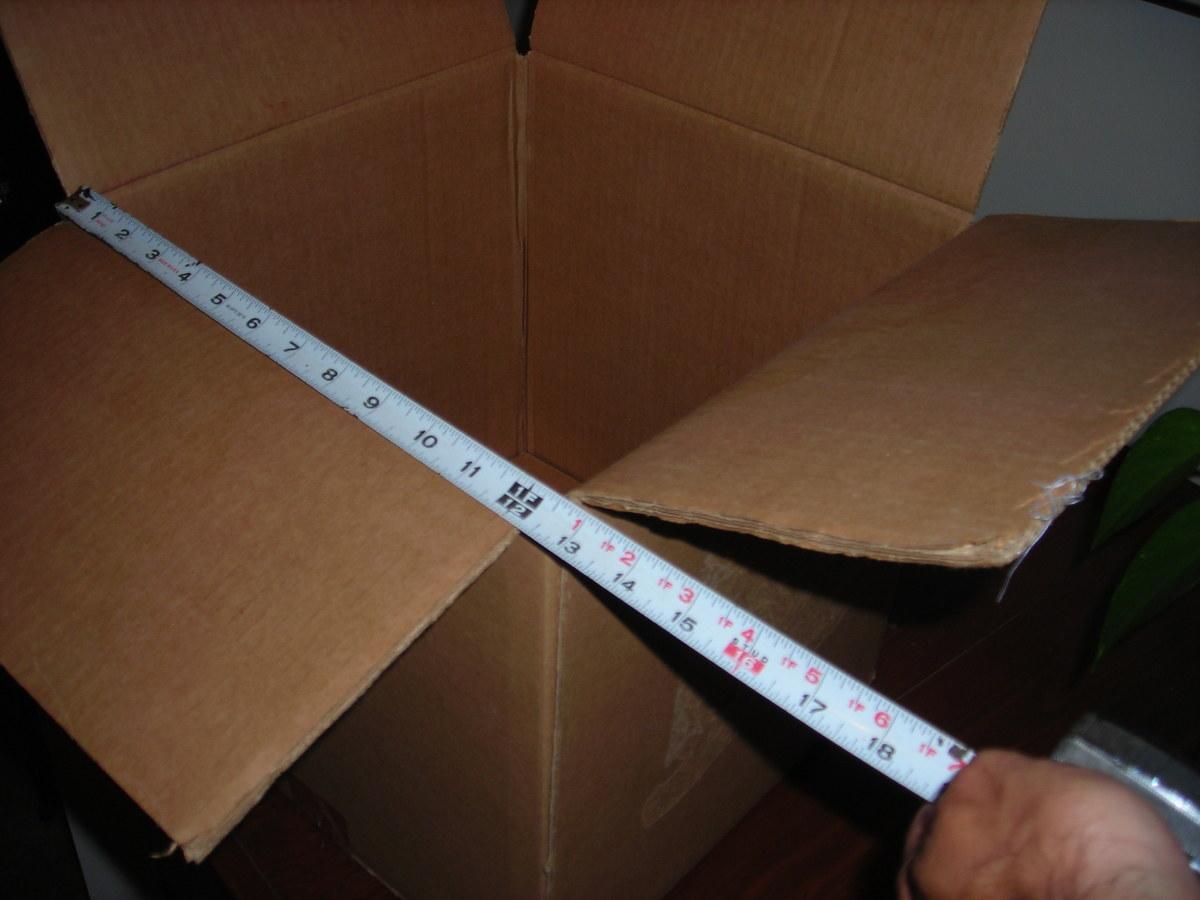 Measure Inside Width of Box