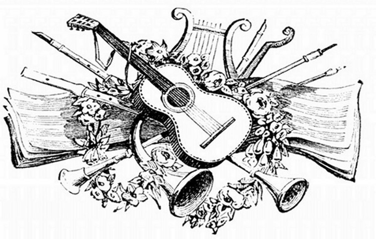 Musical Instruments Kids Coloring Pages Free Colouring Pictures to Print - Classical Instruments