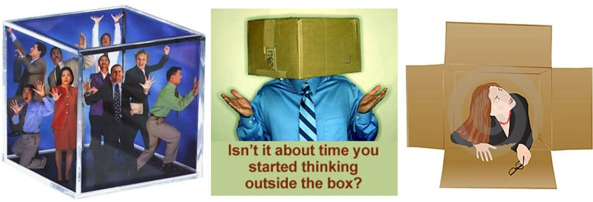 THINK OUTSIDE THE BOX! Is the Universe a BOX that encloses you? If so, then WHAT is outside the box?