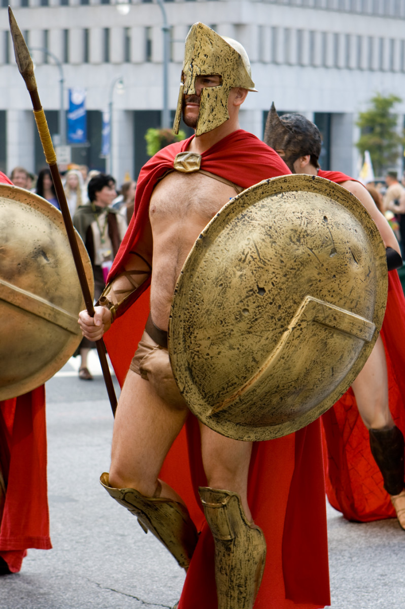 The Spartan Warrior is still celebrated over two thousand years after their exploits at the Thermopylae.
