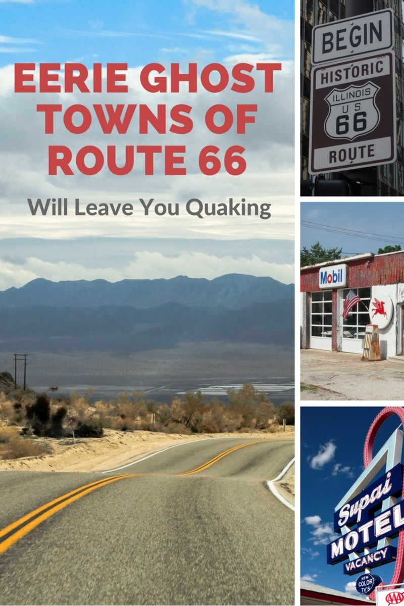Eerie Ghost Towns of Route 66 Will Leave You Quaking