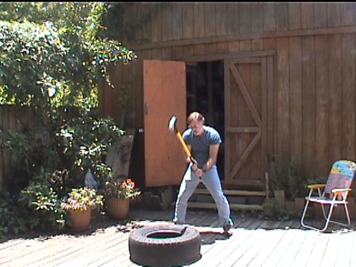 Over 50- Sledge Hammer Fitness: Exercise With The SledgeHammer Workout Does The Job