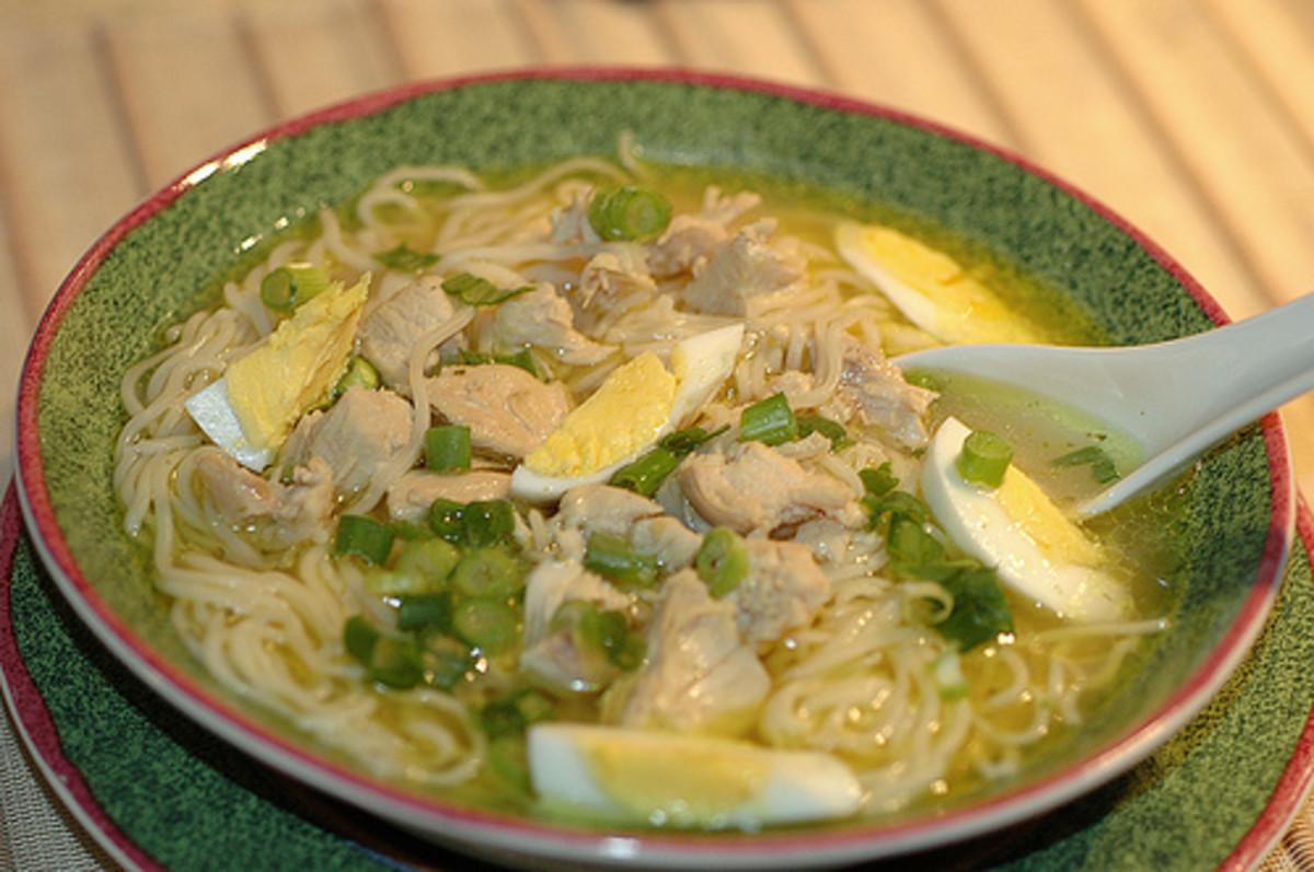 mami egg noodle soup