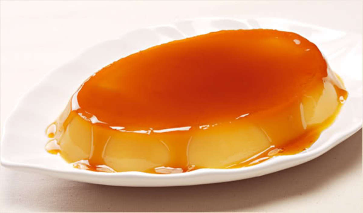 leche flan is a famous dessert and is made out of milk, sugar and extract of vanilla plus egg yolk